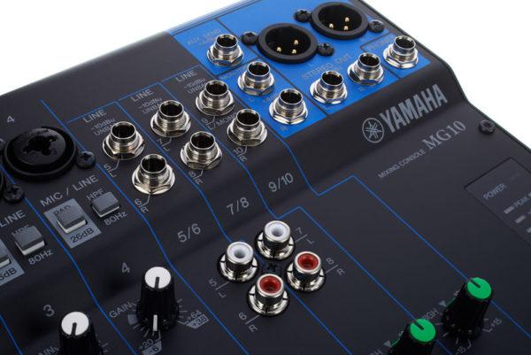 mezcladores yamaha MG10 granollers barcelona