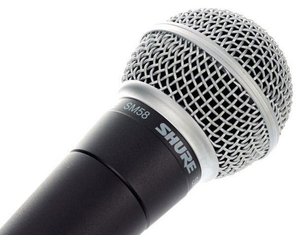 micrófono de mano SHURE SM58